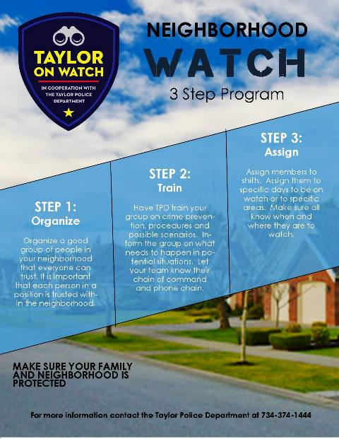 Tayolor on Watch Flyer