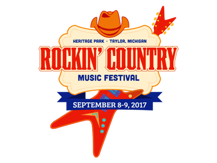ROCKIN COUNTRY MUSIC FESTVIAL 2017