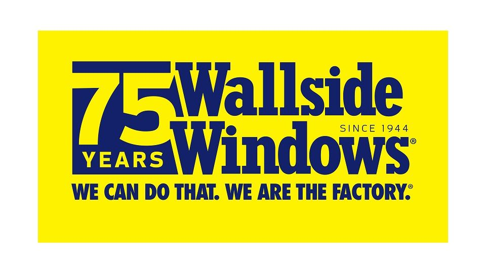 WALLSIDE WINDOWS 75TH LOGO