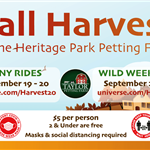 Fall Petting Farm Fall Harvest 2020