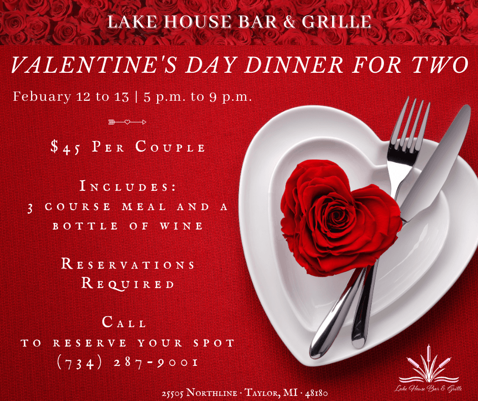 Lake House Bar and Grille Valentines Dinner (5)