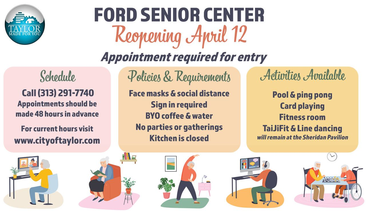 Senior Center Reopening