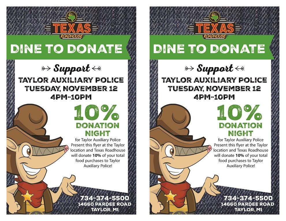 TEXAS ROADHOUSE FLYER