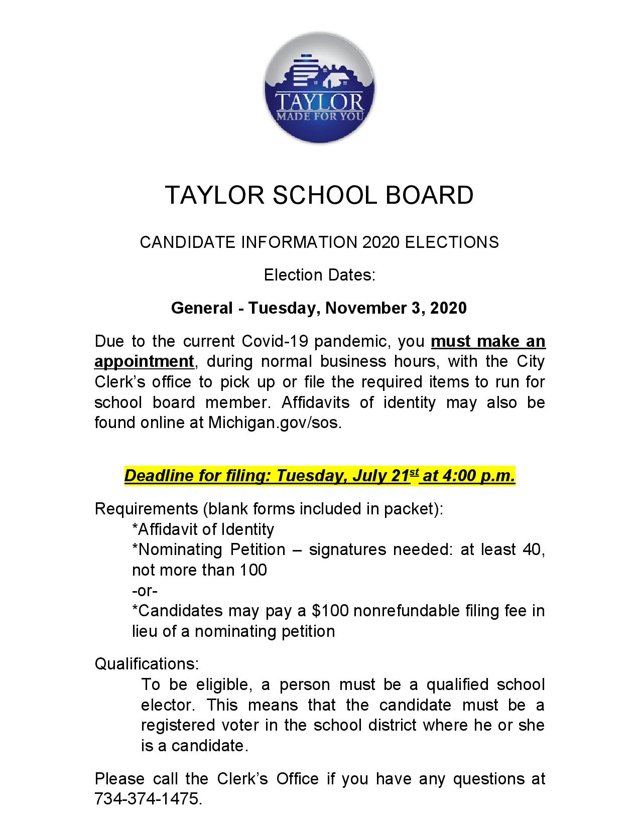 School Board Candidate information 2020- Updated-page-001